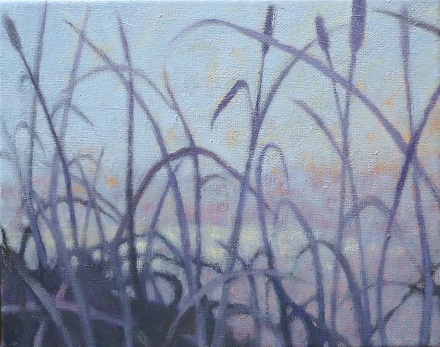Discover Original Art by Nanci Erskine   Grasslands #14 oil painting   Art for Sale Online at UGallery
