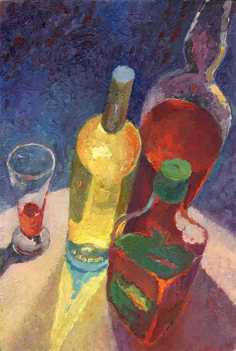 Discover Original Art by Petr Ldin | Drink Still Life oil painting | Art for Sale Online at UGallery