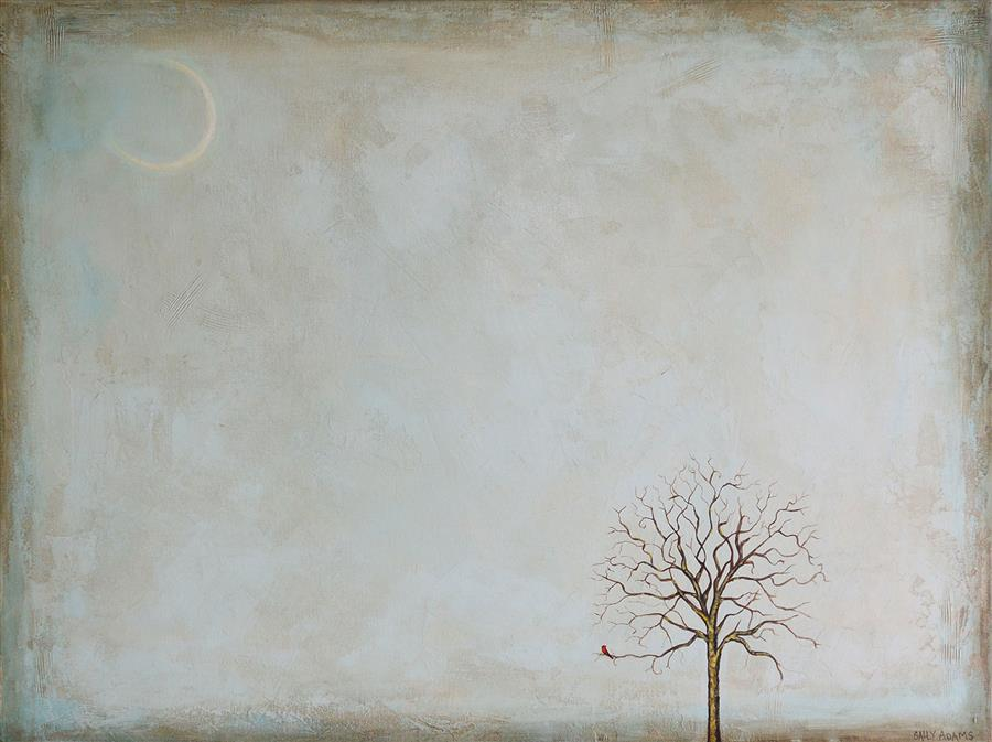 Discover Original Art by Sally Adams   December II acrylic painting   Art for Sale Online at UGallery