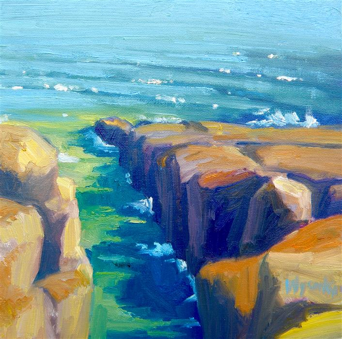 Discover Original Art by Stephen Wysocki | Stoney Point oil painting | Art for Sale Online at UGallery