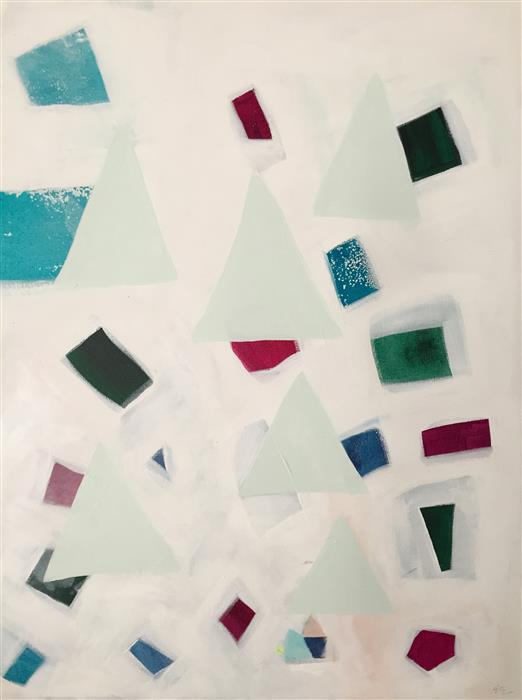 Discover Original Art by Amy Early | Jewel Glass acrylic painting | Art for Sale Online at UGallery