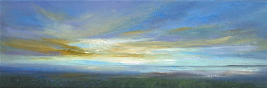 Discover Original Art by Sheila Finch | Kiss of Light 2 oil painting | Art for Sale Online at UGallery