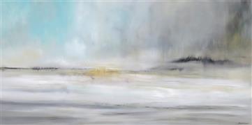 Impressionism art,Landscape art,Seascape art,Non-representational art,acrylic painting,Season of Reflection II