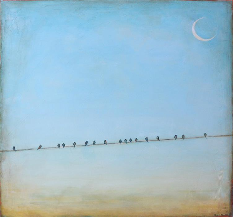 Discover Original Art by Sally Adams | Peaceful acrylic painting | Art for Sale Online at UGallery