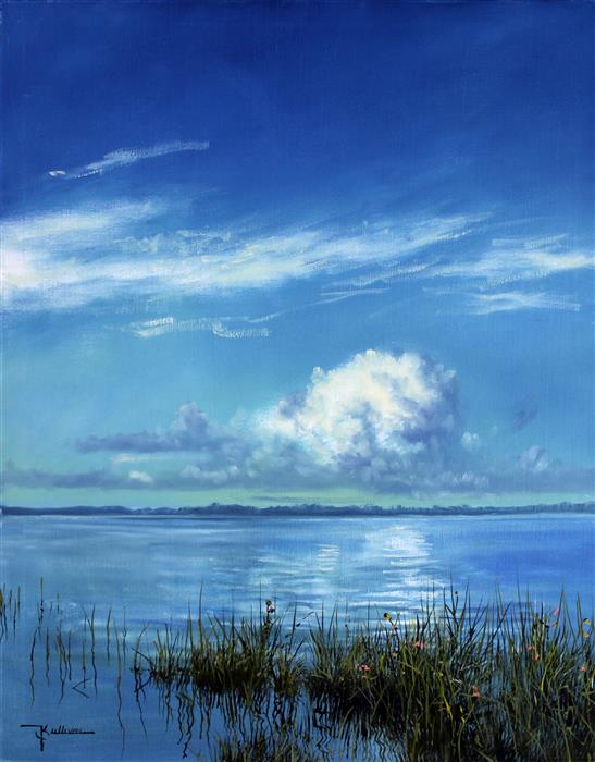 Discover Original Art by Kent Sullivan | Calm Waters oil painting | Art for Sale Online at UGallery
