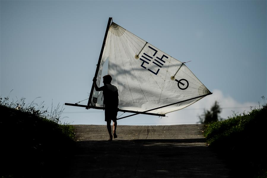 Discover Original Art by Konstantin Chalabov | A Boy with a Sail photography | Art for Sale Online at UGallery