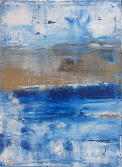 Discover Original Art by Julie Weaverling | Stormy acrylic painting | Art for Sale Online at UGallery