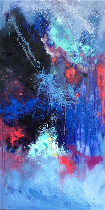 Discover Original Art by Jingshen You | Abstract 221 oil painting | Art for Sale Online at UGallery