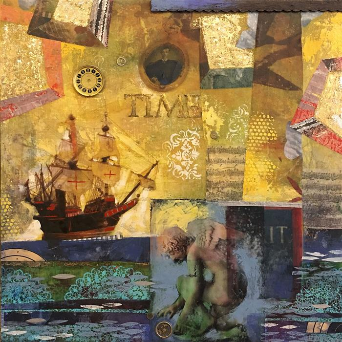 Discover Original Art by Darlene McElroy | Moments in Time mixed media artwork | Art for Sale Online at UGallery
