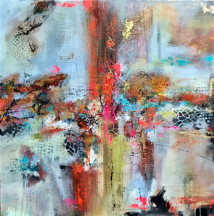 Discover Original Art by DL Watson   London Bridges acrylic painting   Art for Sale Online at UGallery