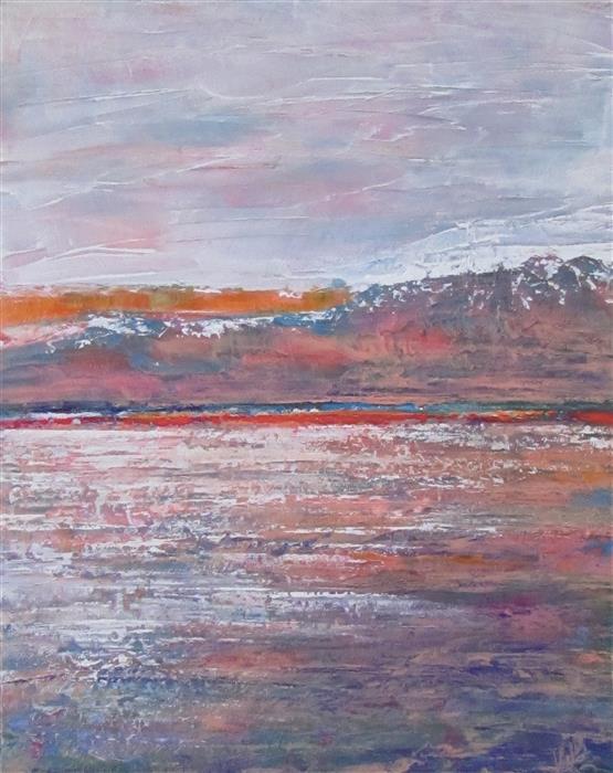 Discover Original Art by Valerie Berkely   Orange Swipe oil painting   Art for Sale Online at UGallery