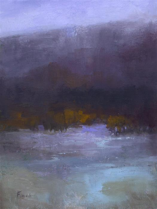 Discover Original Art by Sheila Finch | Violet Hush oil painting | Art for Sale Online at UGallery