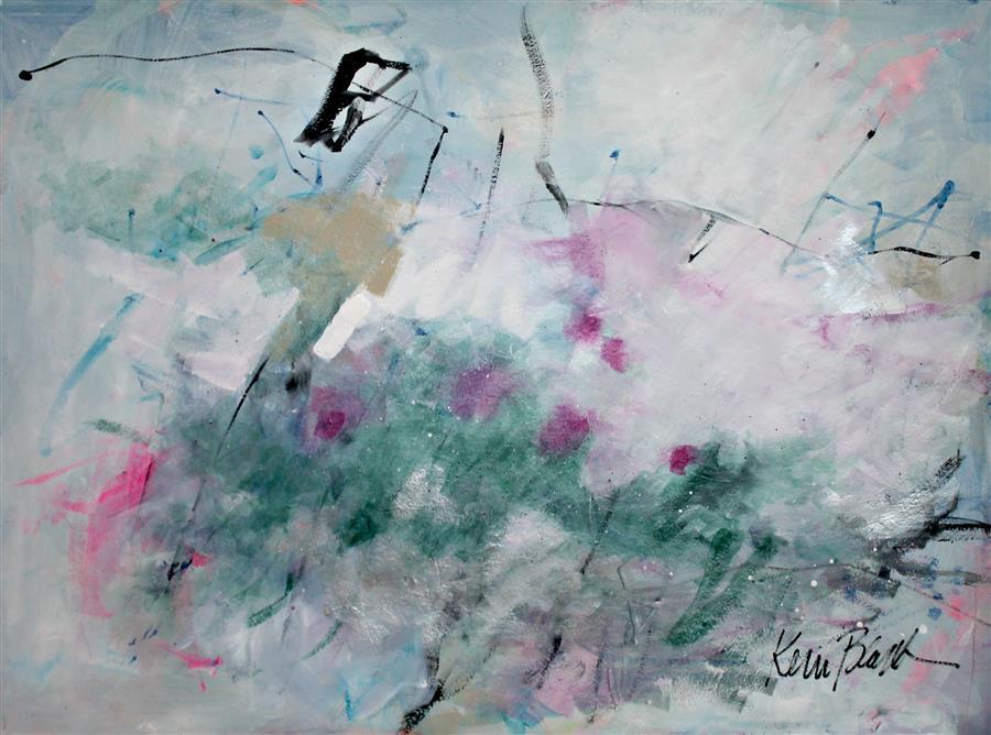 Discover Original Art by Kerri  Blackman | March Breeze mixed media artwork | Art for Sale Online at UGallery
