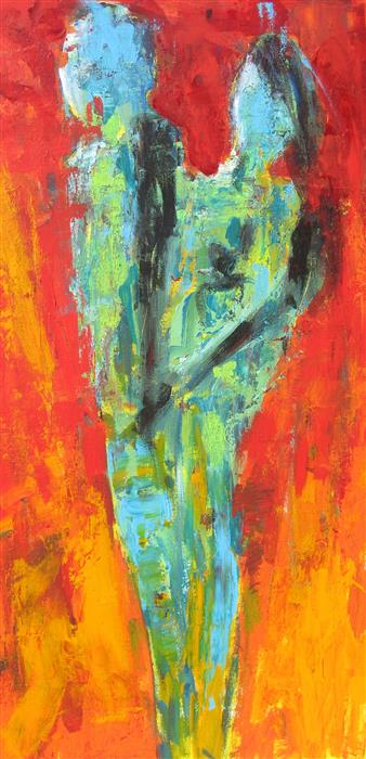 Discover Original Art by Ron Klotchman | Once More, With Feeling acrylic painting | Art for Sale Online at UGallery