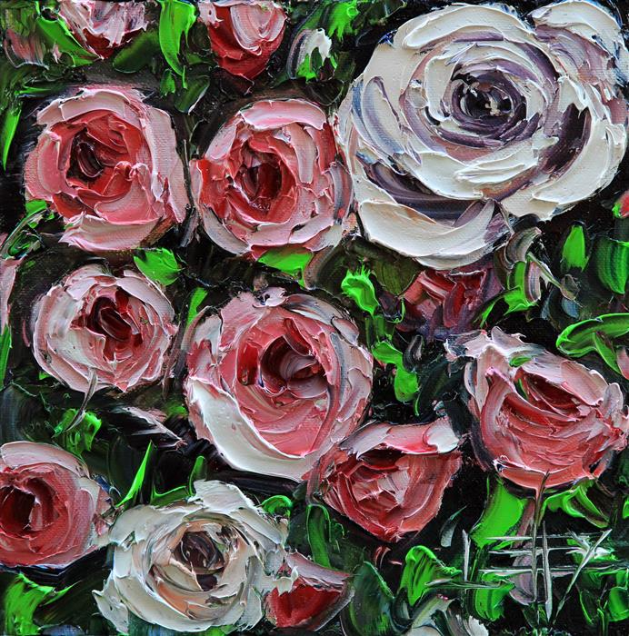 Discover Original Art by Lisa Elley | Simply Spring oil painting | Art for Sale Online at UGallery