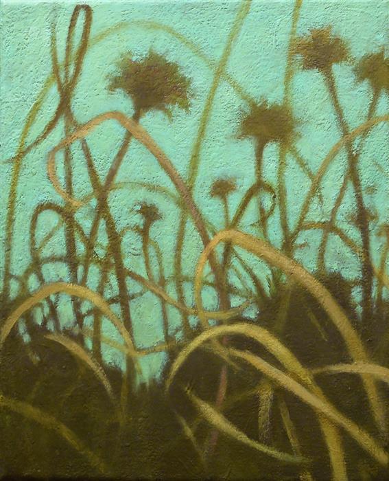 Discover Original Art by Nanci Erskine   Grasslands #15 oil painting   Art for Sale Online at UGallery