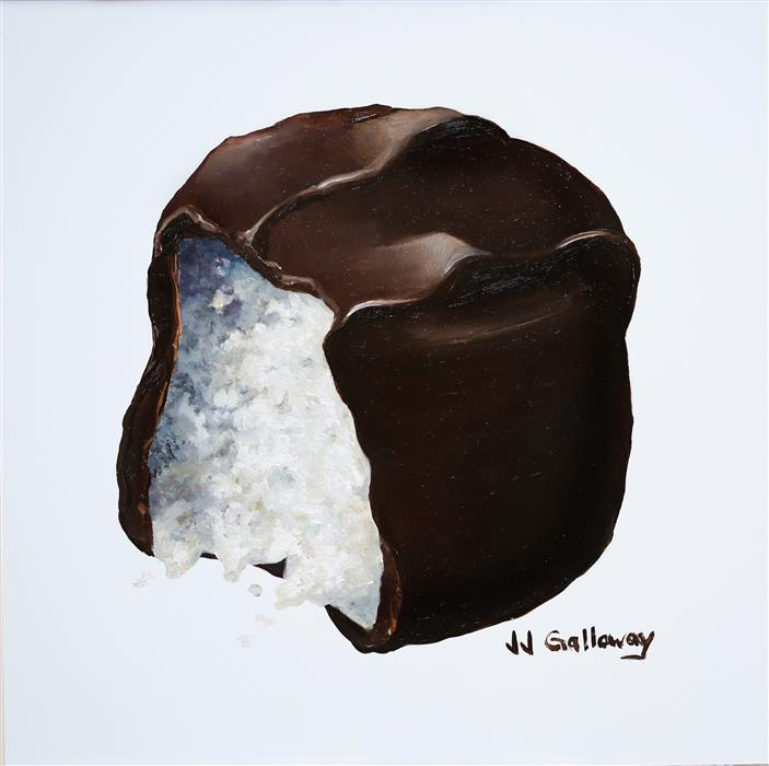 Discover Original Art by JJ Galloway | Coconut Cream oil painting | Art for Sale Online at UGallery
