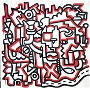 Street Art art,Non-representational art,Modern  art,acrylic painting,Hot Hardware