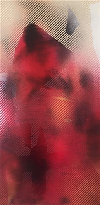 Discover Original Art by Mélisa Taylor | Mangata 40 mixed media artwork | Art for Sale Online at UGallery