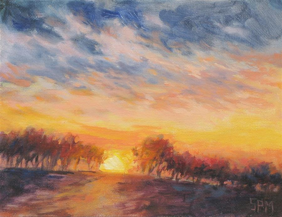 Discover Original Art by Suzanne Massion | Day's End oil painting | Art for Sale Online at UGallery