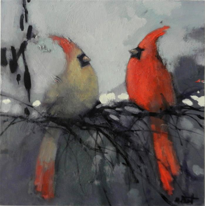 Discover Original Art by Mary Pratt | My Valentine oil painting | Art for Sale Online at UGallery