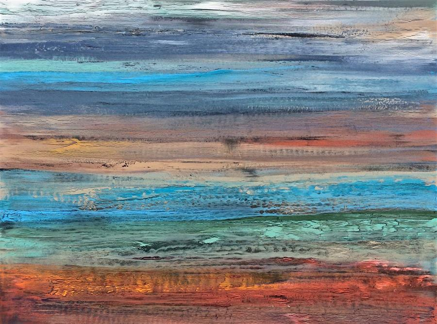 Discover Original Art by Alicia Dunn | Ride the Wind II acrylic painting | Art for Sale Online at UGallery