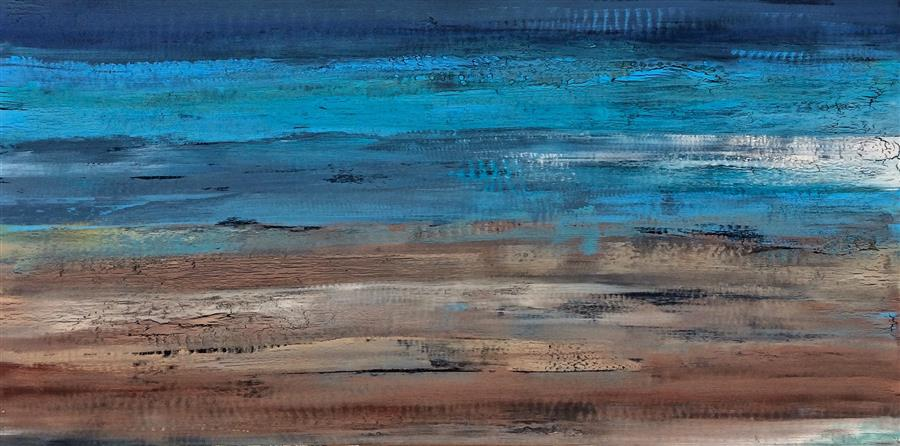Discover Original Art by Alicia Dunn | To the Limits of Your Longing acrylic painting | Art for Sale Online at UGallery