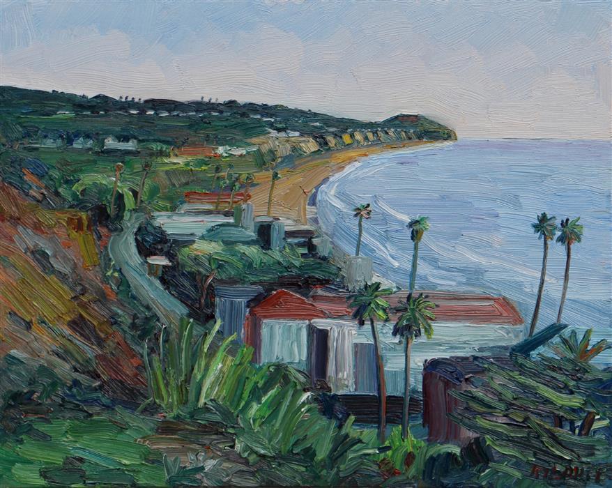 Discover Original Art by John Kilduff   Broad Beach Malibu oil painting   Art for Sale Online at UGallery