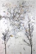 Nature art,Representational art,Vintage art,encaustic artwork,The Space Between