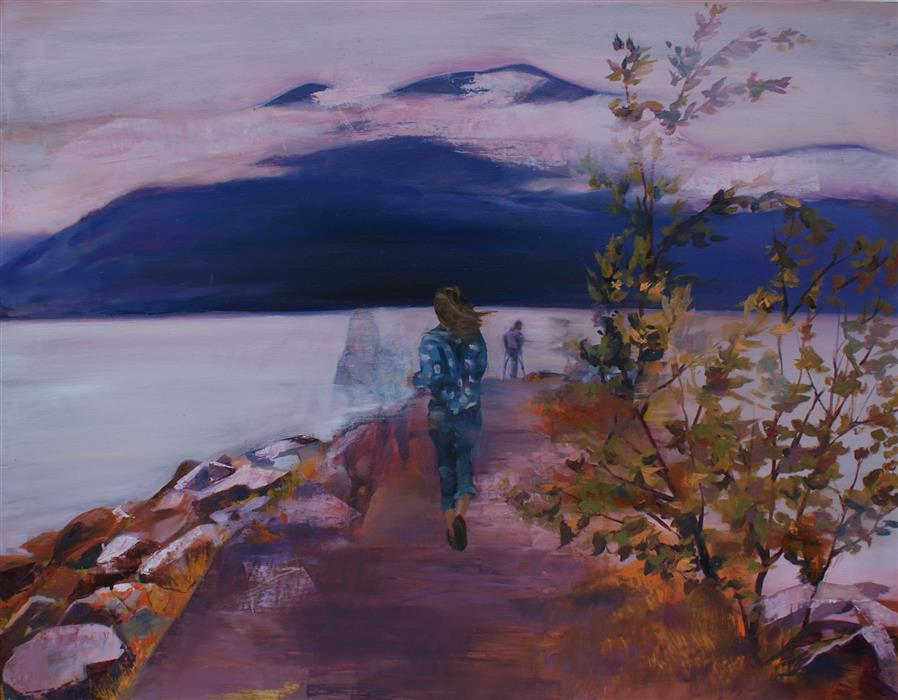 Discover Original Art by Abigail Drapkin | Running Out of Time oil painting | Art for Sale Online at UGallery
