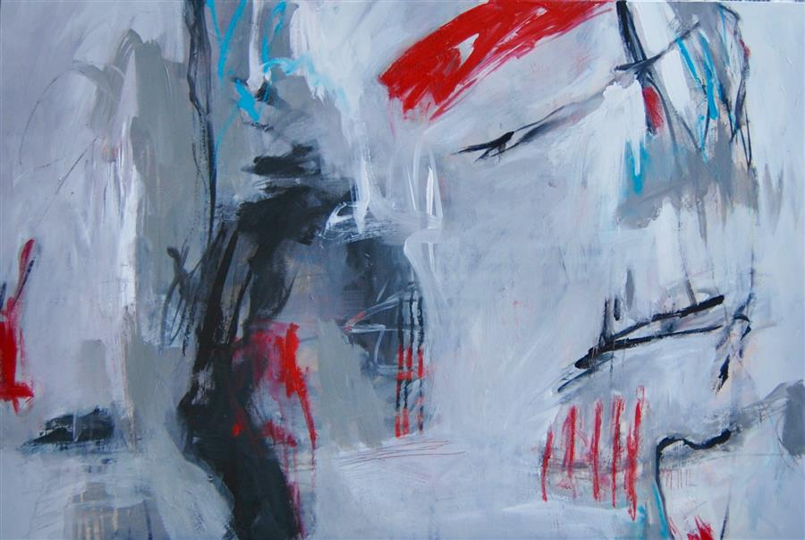 Discover Original Art by Kara Barkved | Letting Go acrylic painting | Art for Sale Online at UGallery
