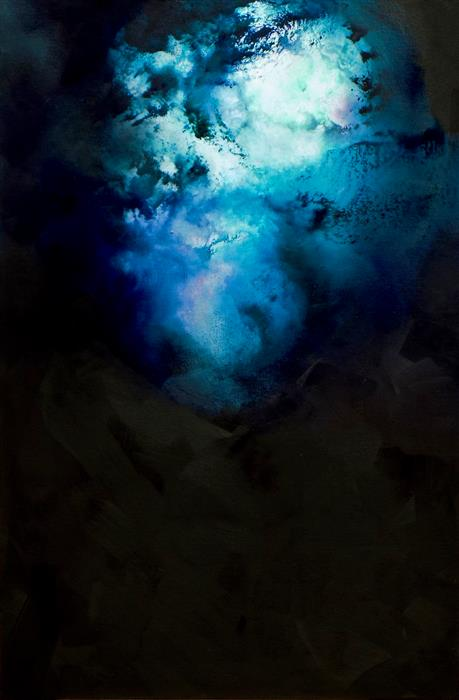 Discover Original Art by Wes Sumrall | Nocturnes - Silence oil painting | Art for Sale Online at UGallery