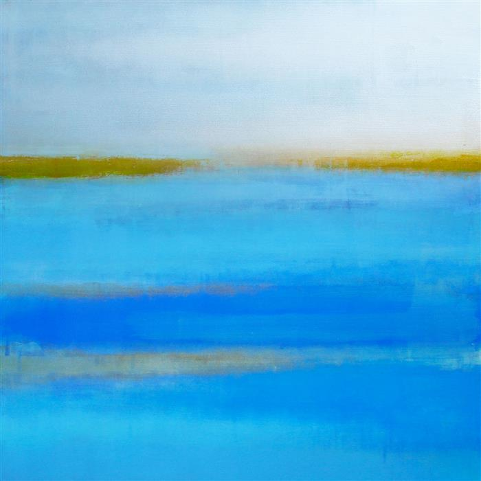 Discover Original Art by Denise Choppin | Smooth Sailing acrylic painting | Art for Sale Online at UGallery