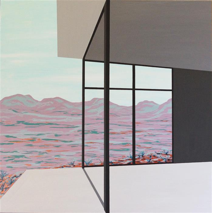 Discover Original Art by Jessica Ecker | A New Beginning (Architected Landscape 19) acrylic painting | Art for Sale Online at UGallery