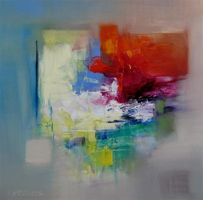 Discover Original Art by George Peebles | The Zone oil painting | Art for Sale Online at UGallery