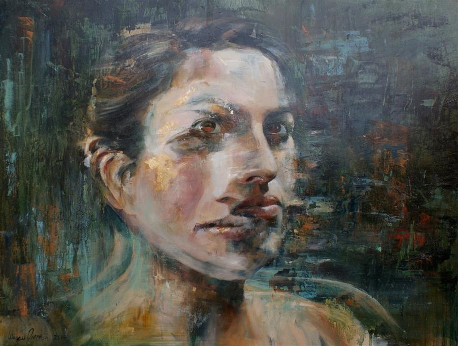 Discover Original Art by Abigail Drapkin | Transcendence oil painting | Art for Sale Online at UGallery