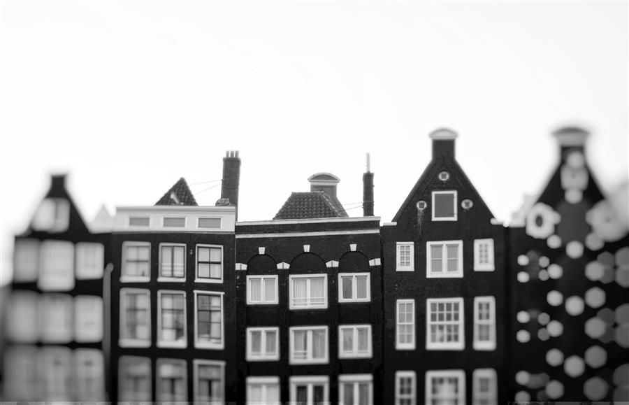 Discover Original Art by Carina Okula | Holland Houses photography | Art for Sale Online at UGallery