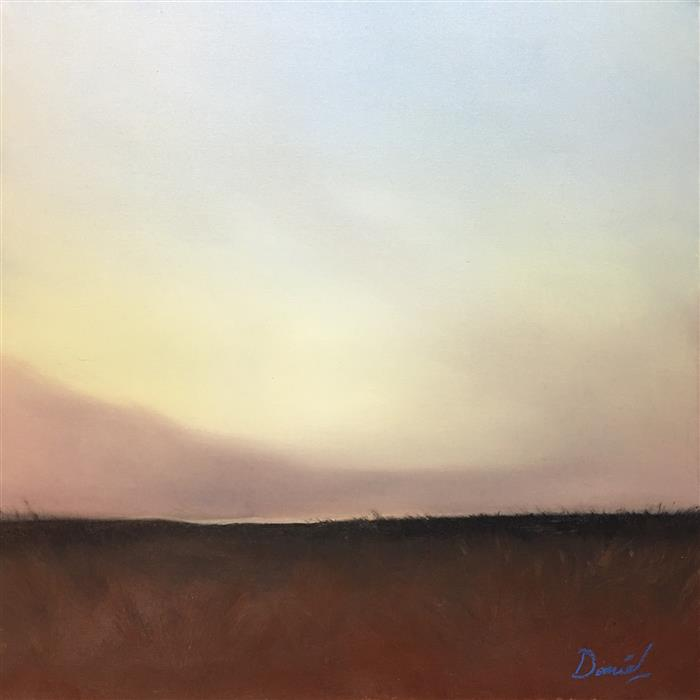 Discover Original Art by Daniel Harris | Copper Crossing oil painting | Art for Sale Online at UGallery