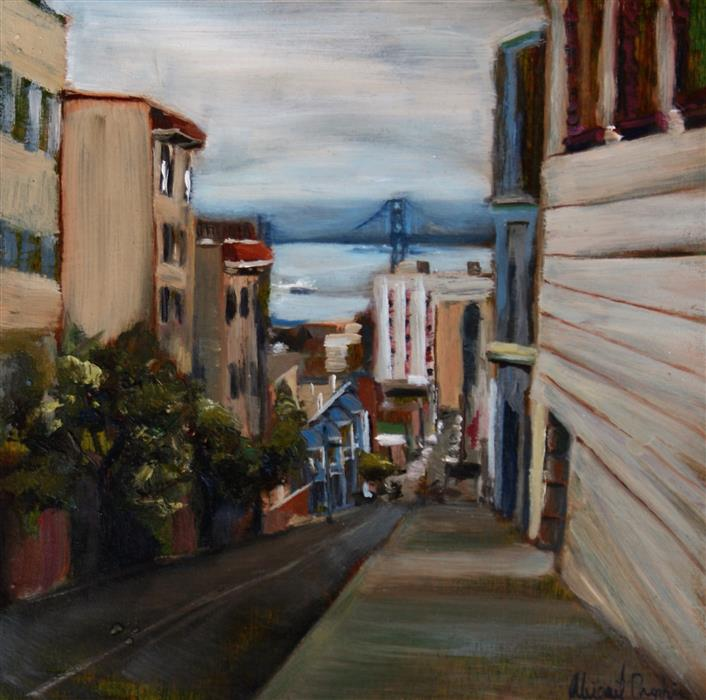 Discover Original Art by Abigail Drapkin | Washington and Leavenworth oil painting | Art for Sale Online at UGallery