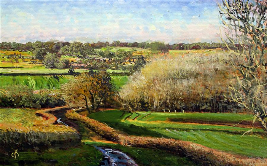 Discover Original Art by Kent Sullivan   Fairlight England oil painting   Art for Sale Online at UGallery