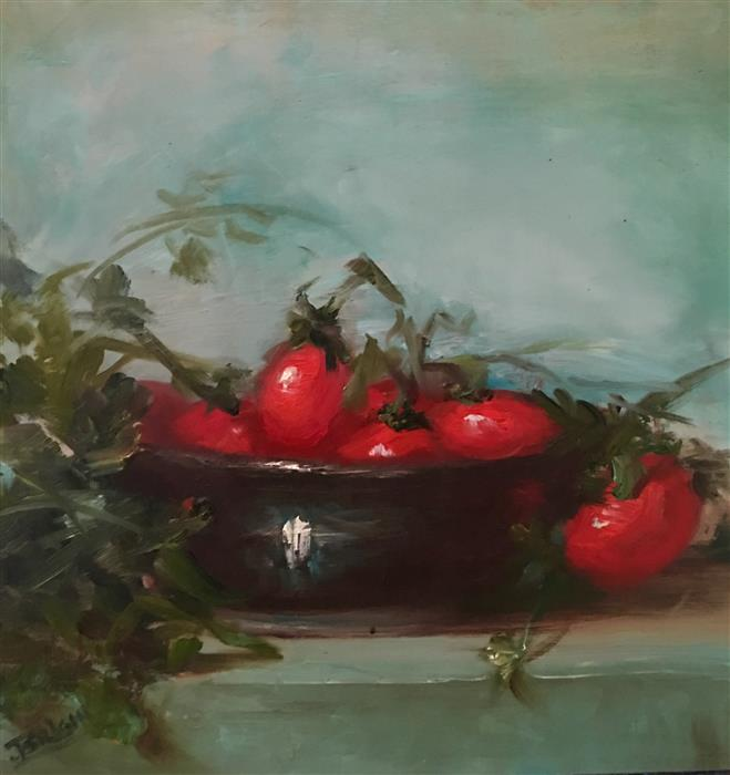 Discover Original Art by Julia Bright | Ripe Now oil painting | Art for Sale Online at UGallery