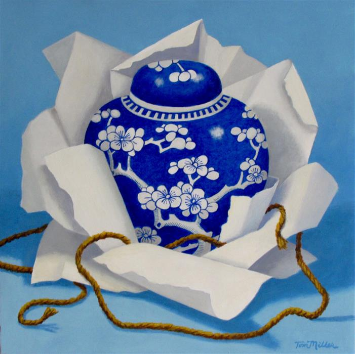 Discover Original Art by Tom Miller   China Revealed acrylic painting   Art for Sale Online at UGallery