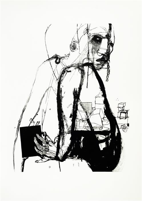 Discover Original Art by Natalia Pawlus | Black Box III printmaking | Art for Sale Online at UGallery