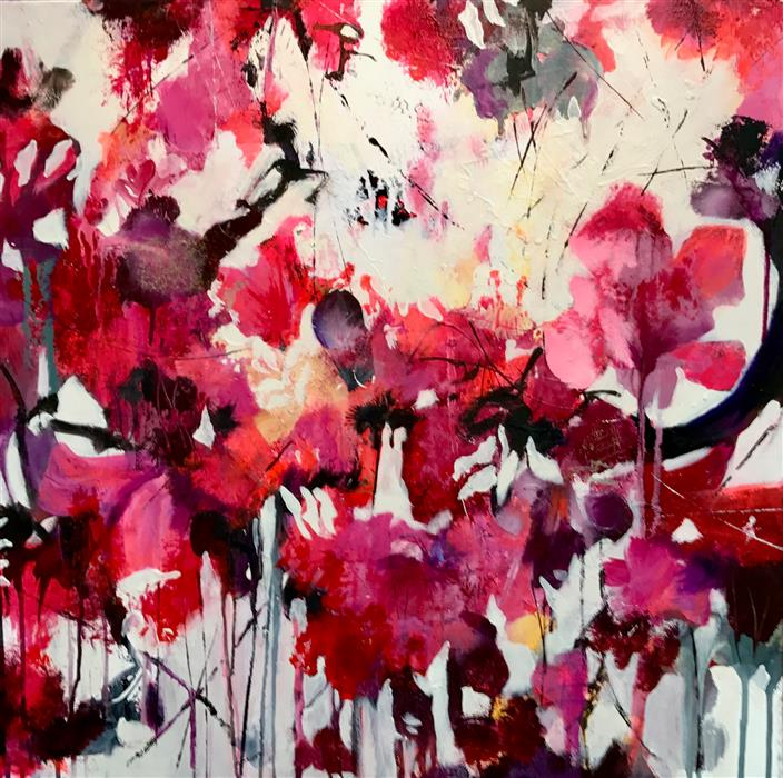 Discover Original Art by DL Watson | Morning Bloom  acrylic painting | Art for Sale Online at UGallery