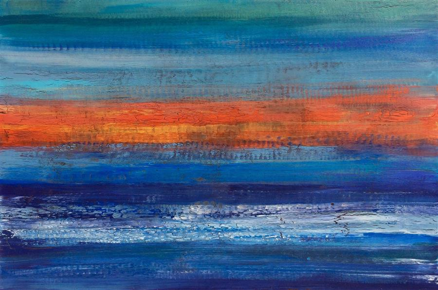 Discover Original Art by Alicia Dunn | Day's End acrylic painting | Art for Sale Online at UGallery