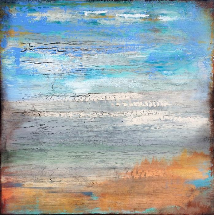 Discover Original Art by Alicia Dunn | Mystical Mist acrylic painting | Art for Sale Online at UGallery
