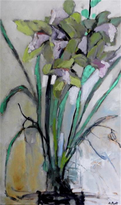 Discover Original Art by Mary Pratt | Flowery oil painting | Art for Sale Online at UGallery