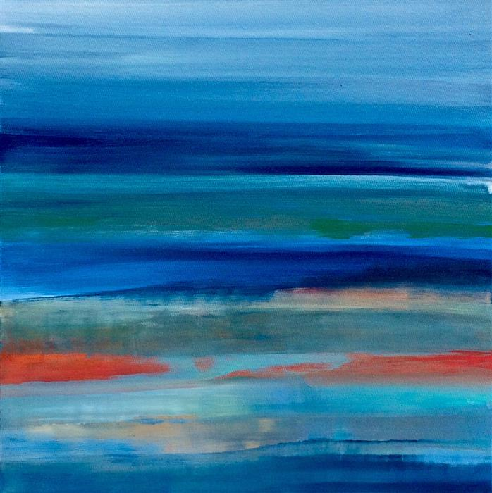 Discover Original Art by Alicia Dunn | This Is the Moment acrylic painting | Art for Sale Online at UGallery