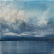 Impressionism art,Landscape art,Seascape art,Representational art,acrylic painting,Broken Sky 2