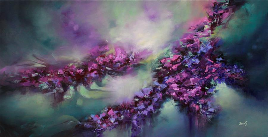 Discover Original Art by Sandra Zekk | Tango oil painting | Art for Sale Online at UGallery